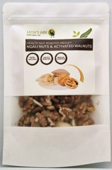 Ngali Nuts and Activated Walnut Medley 125 gram Roasted – Freshly Activated